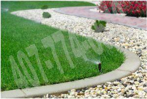 sprinkler repair problems
